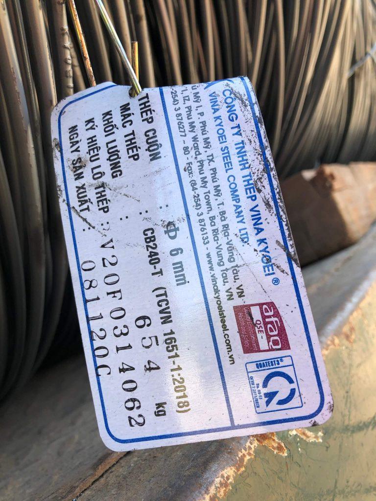 bảng báo gia thép tron trơn mạ kẽm nhúng nóng tại quận bình tân tphcm giá cạnh tranh